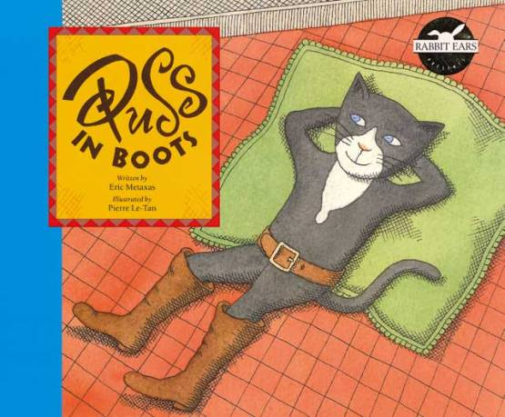 Puss in Boots Book Cover